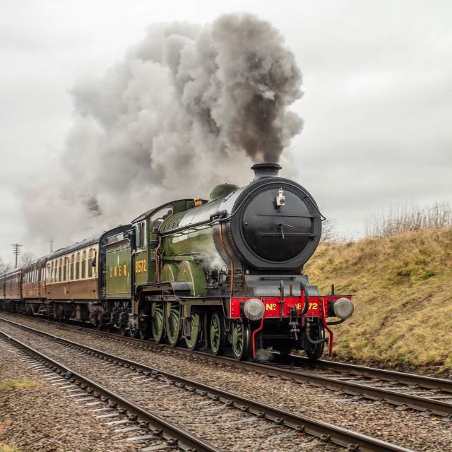 """LNER Thompson Class B1 61306"" stock image"