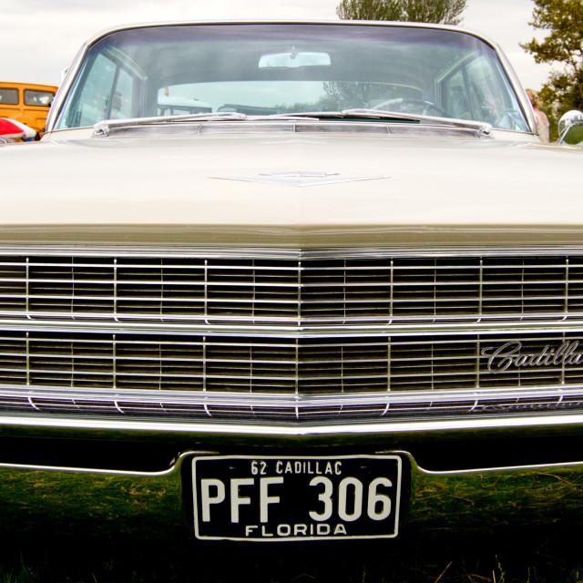 """1962 Cadillac Series 62 on display at 2012 Vintage Transport Extravaganza 2012 Vintage Transport Extravaganza"" stock image"