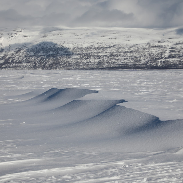"""Ice Dunes"" stock image"