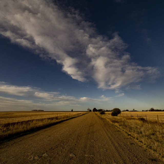 """""""Road and Cloud"""" stock image"""