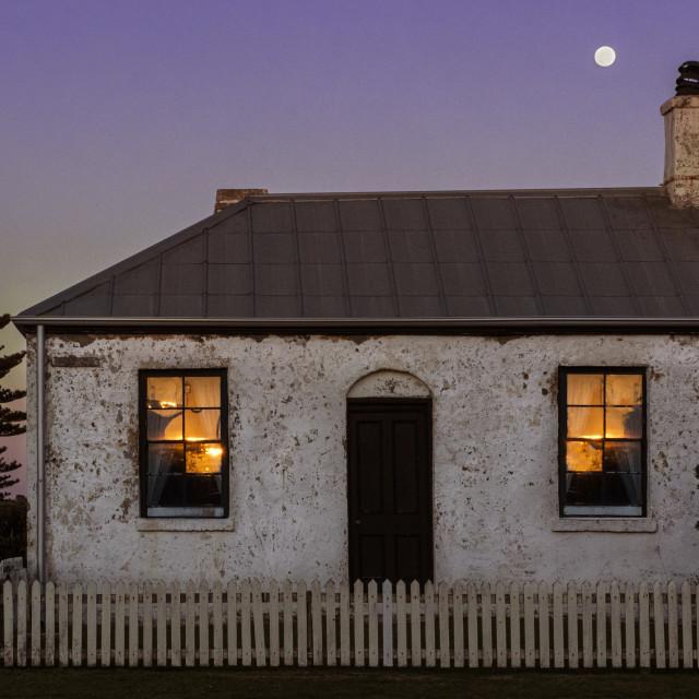 """Historic Cottage"" stock image"