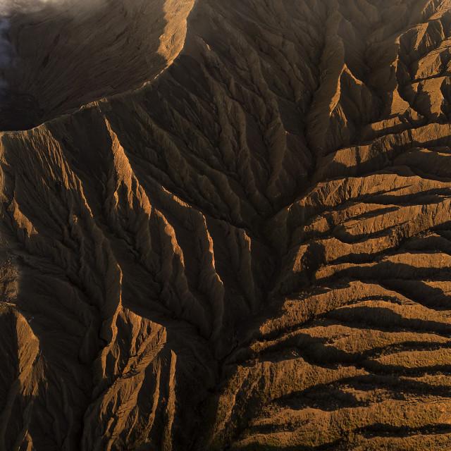 """Mount Bromo Textures"" stock image"
