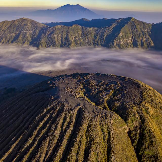"""""""Mount Batok"""" stock image"""