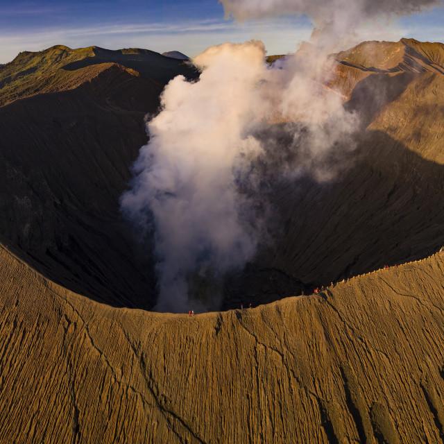 """""""Mount Bromo 01"""" stock image"""