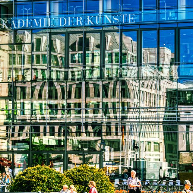 """""""Akademie der Künste, Berlin"""" stock image"""