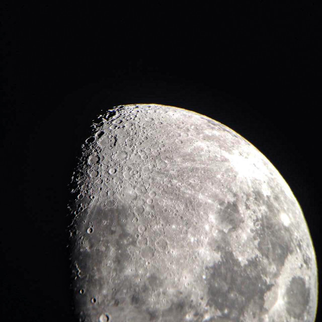 """""""Moon details"""" stock image"""
