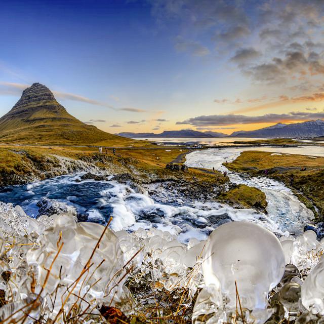 """Kirkjufell 01"" stock image"