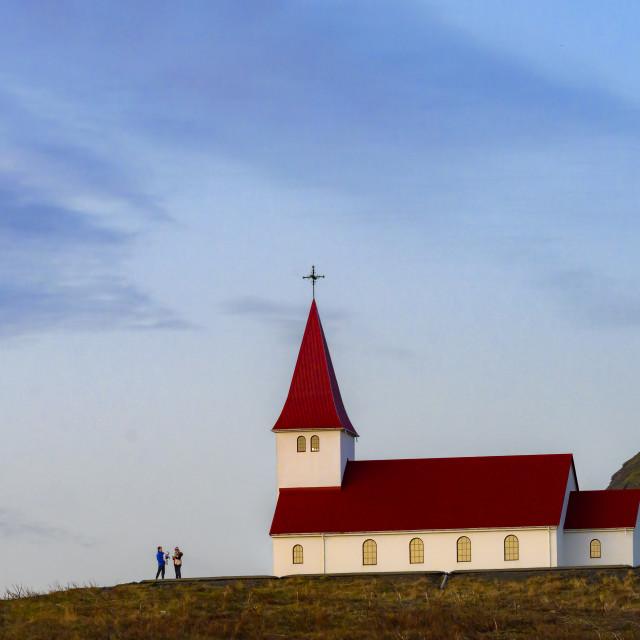 """Vik Church"" stock image"