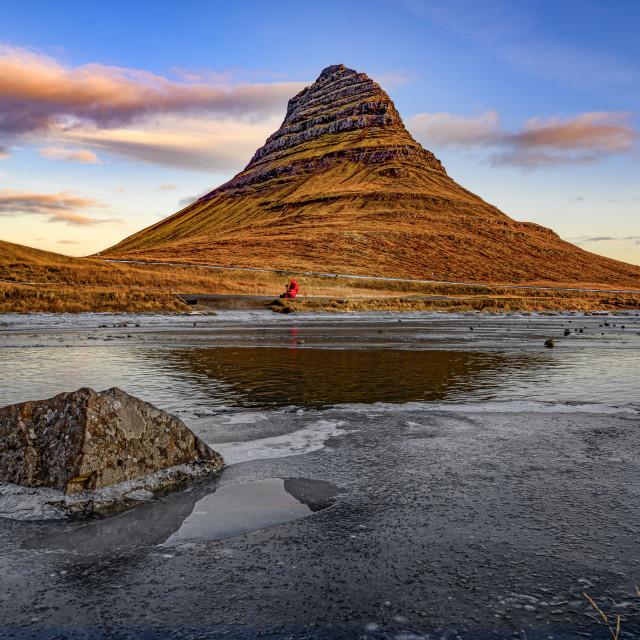 """Kirkjufell 02"" stock image"