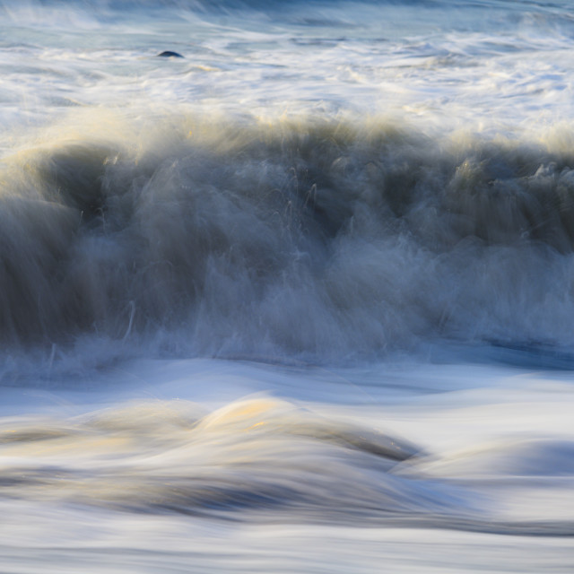 """""""Waves Abtract 02"""" stock image"""