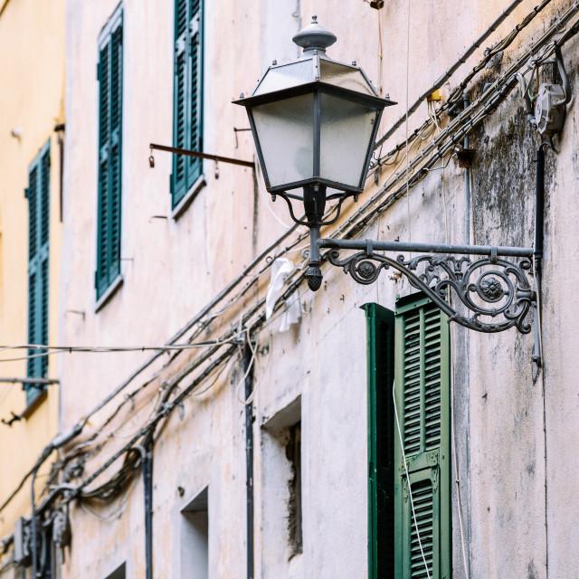 """""""Mediterranean Facade"""" stock image"""