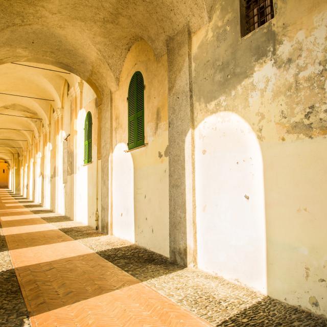 """""""Monastero Santa Chiara"""" stock image"""
