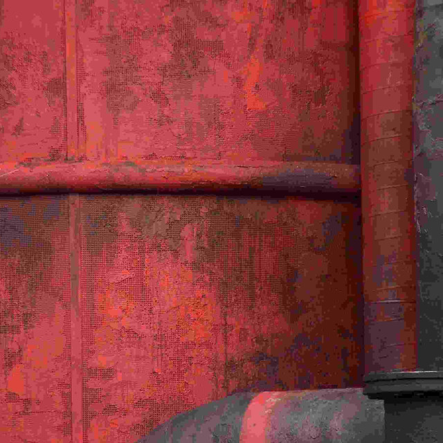 """""""Rusty red"""" stock image"""