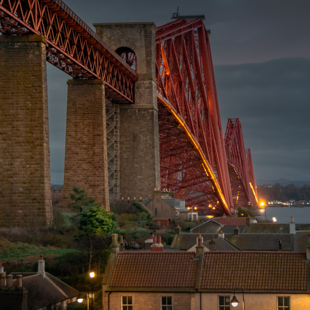 """""""A North Queensferry Evening"""" stock image"""