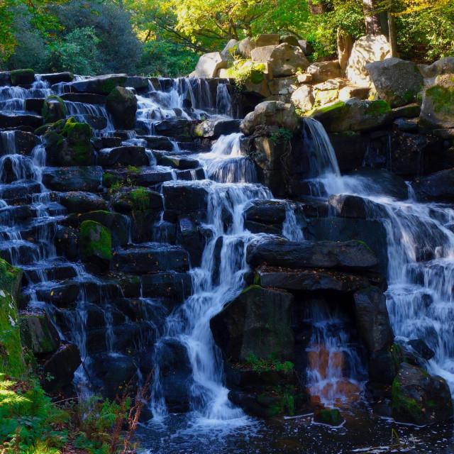 """Waterfall Cascade"" stock image"