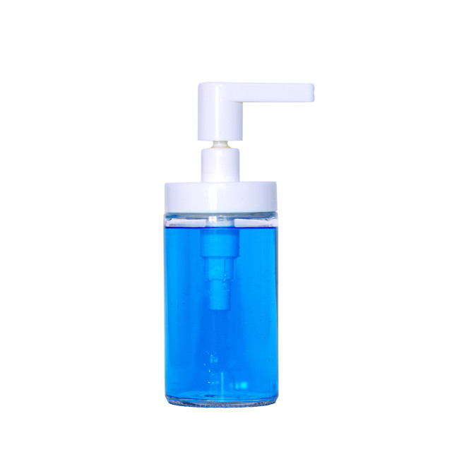"""""""sterilizing dispenser bottle"""" stock image"""