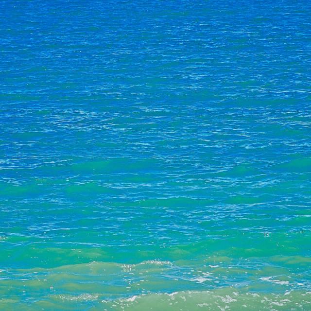 """Boat On Distant Sea Horizon"" stock image"