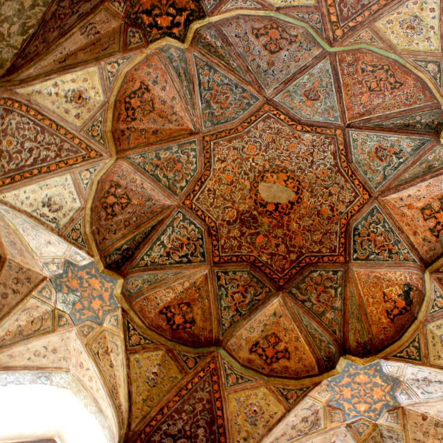 """""""8 Behesht Palace"""" stock image"""