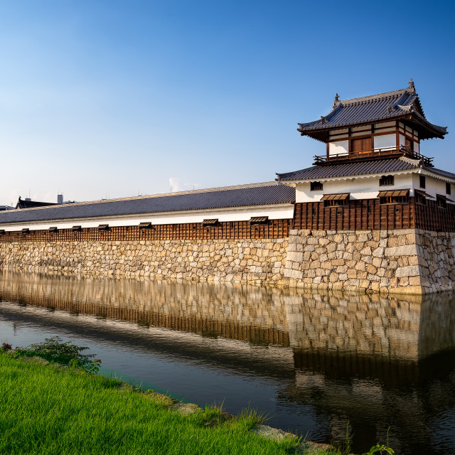 """Nijo Castle Wall Kyoto Japan"" stock image"