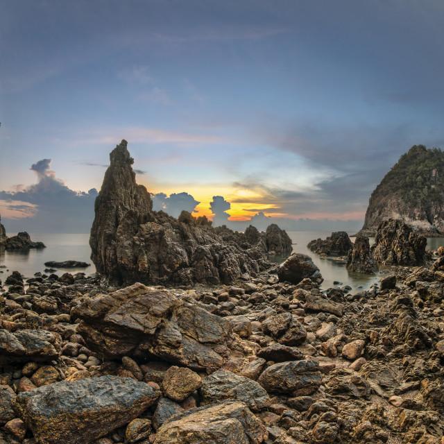 """Pulau Mawar 01"" stock image"