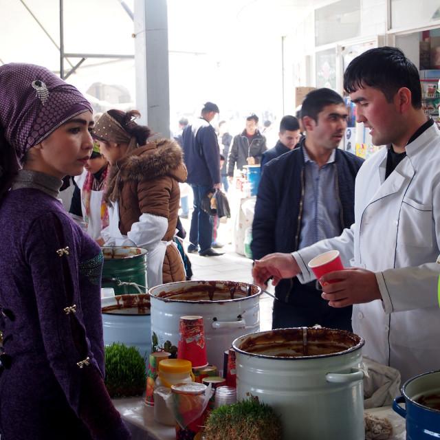 """""""Chorsu Bazaar, Tashkent"""" stock image"""