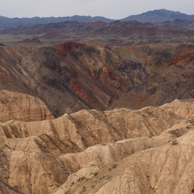 """""""Charyn Canyon, Kazakhstan"""" stock image"""