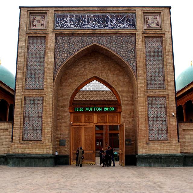 """Khazrati Imam - Tashkent, Uzbekistan"" stock image"