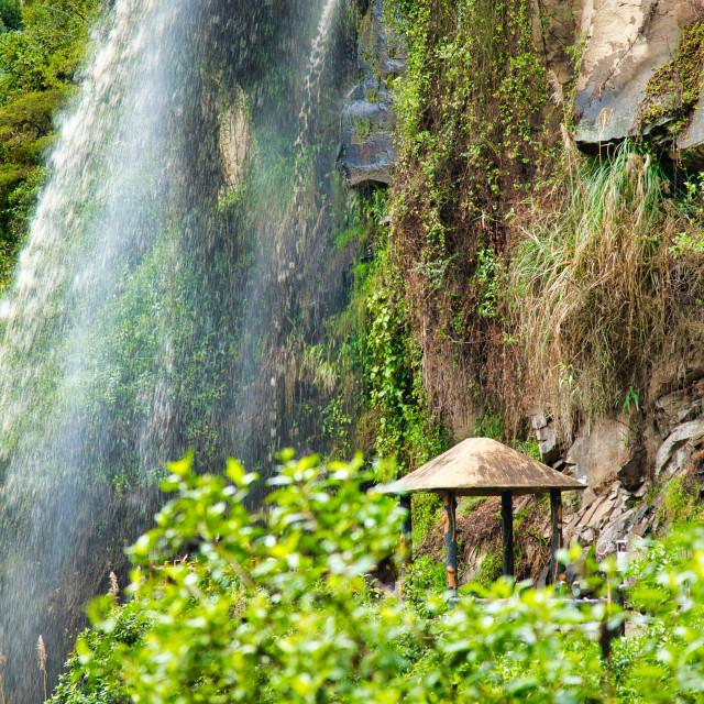 """Waterfall Viewpoint"" stock image"
