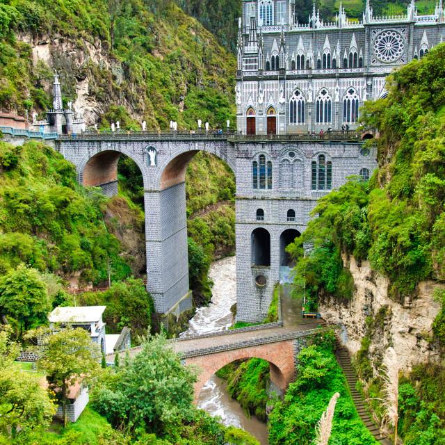 """Beautiful Las Lajas"" stock image"