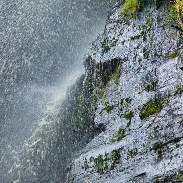 """""""Waterfall Spray"""" stock image"""