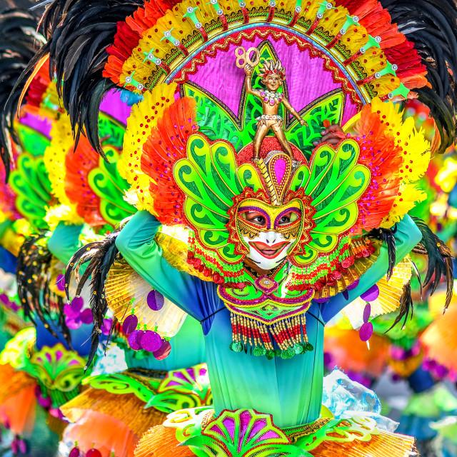 """39th Masskara Festival 01"" stock image"