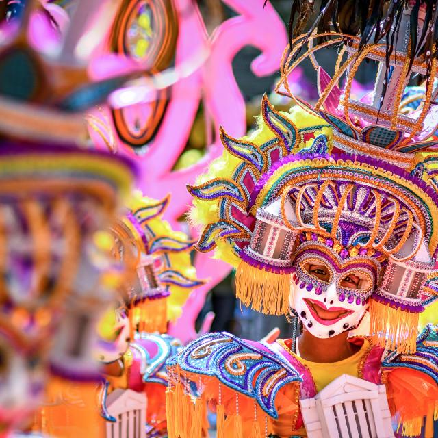 """39th Masskara Festival 02"" stock image"