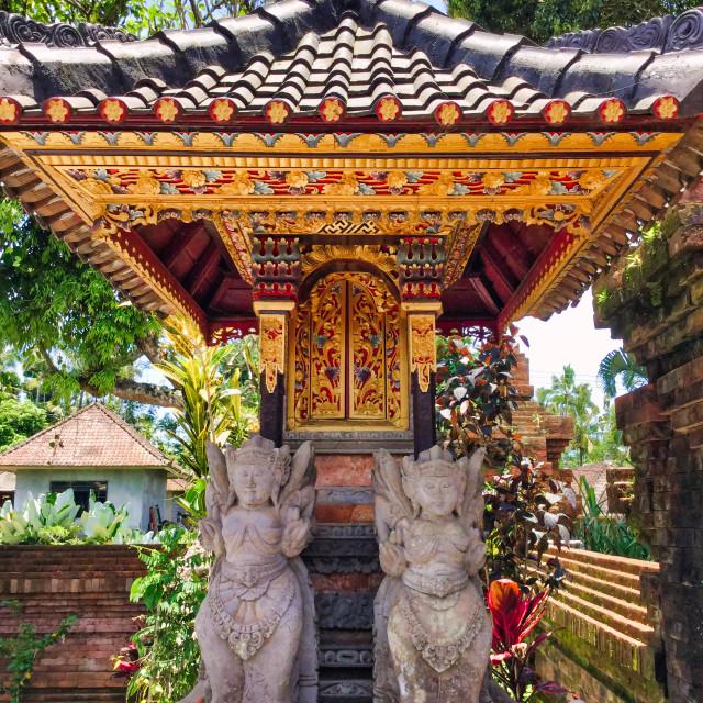 """Hindu Family Temple"" stock image"