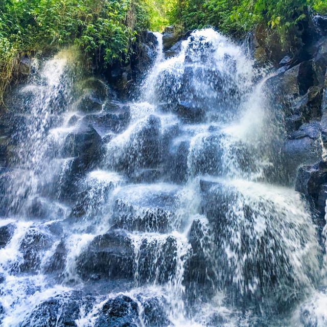 """Kanto Lampo Waterfall"" stock image"