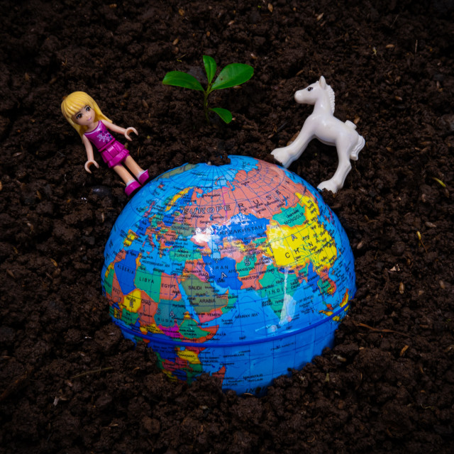 """The Earth Day"" stock image"