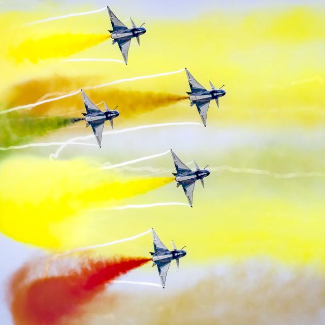 """PLAA Aerobatics 02"" stock image"