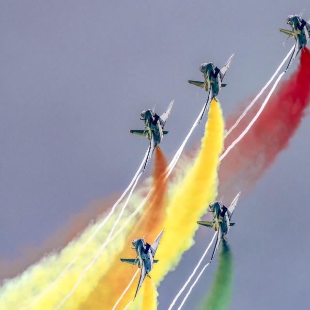 """PLAA Aerobatics 01"" stock image"