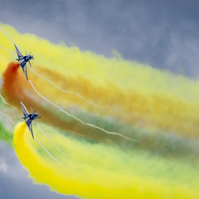 """PLAA Aerobatics 03"" stock image"