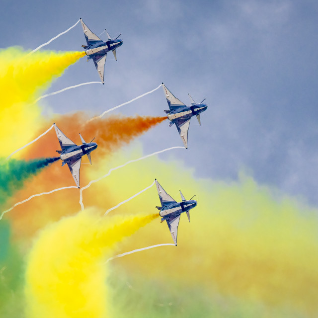 """PLAA Aerobatics 04"" stock image"