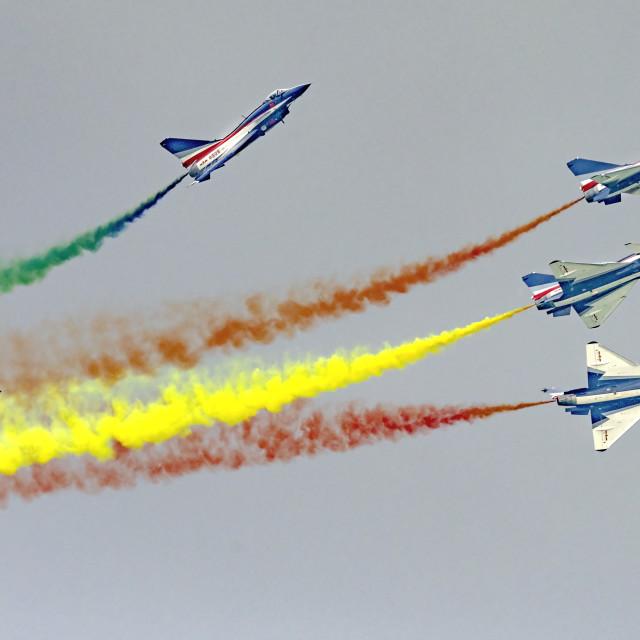 """PLAA Aerobatics 05"" stock image"