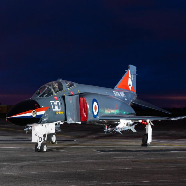 """Royal Navy Phantom"" stock image"