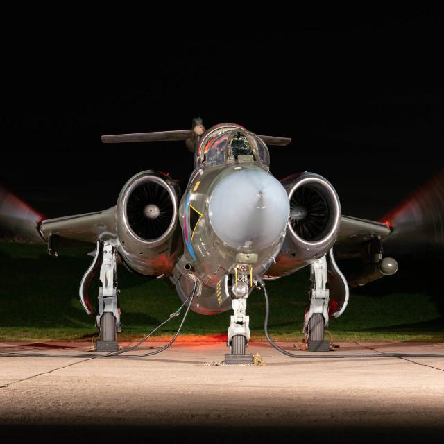 """""""Blackburn Buccaneer"""" stock image"""