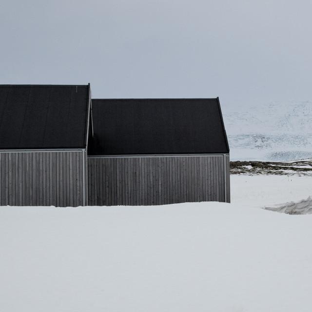 """""""ICELAND HOUSE."""" stock image"""