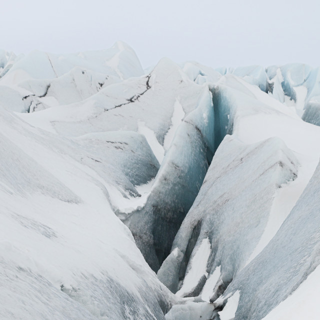 """GLACIER OF ICELAND."" stock image"