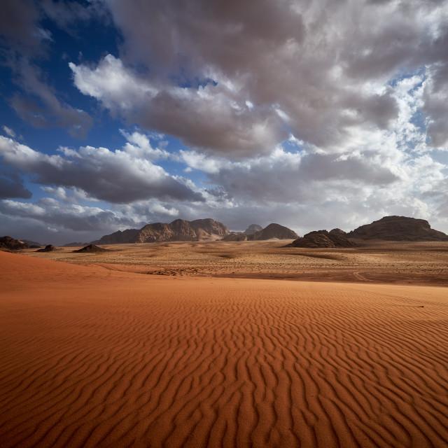 """""""Wadi Rum"""" stock image"""