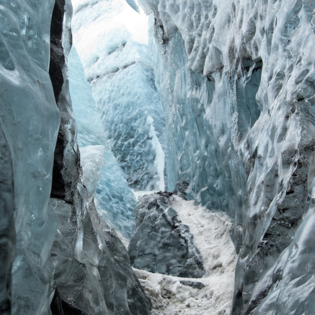 """ICELAND GLACIER"" stock image"