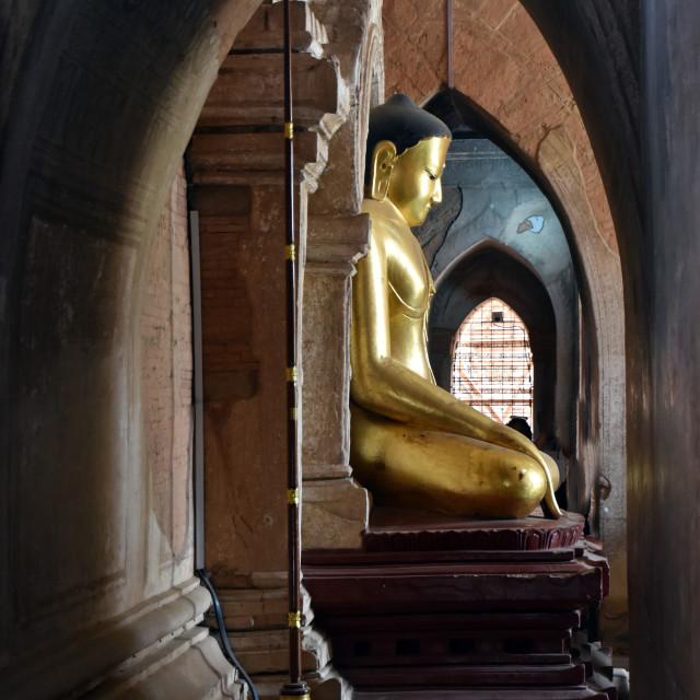 """""""Buddha Framed"""" stock image"""