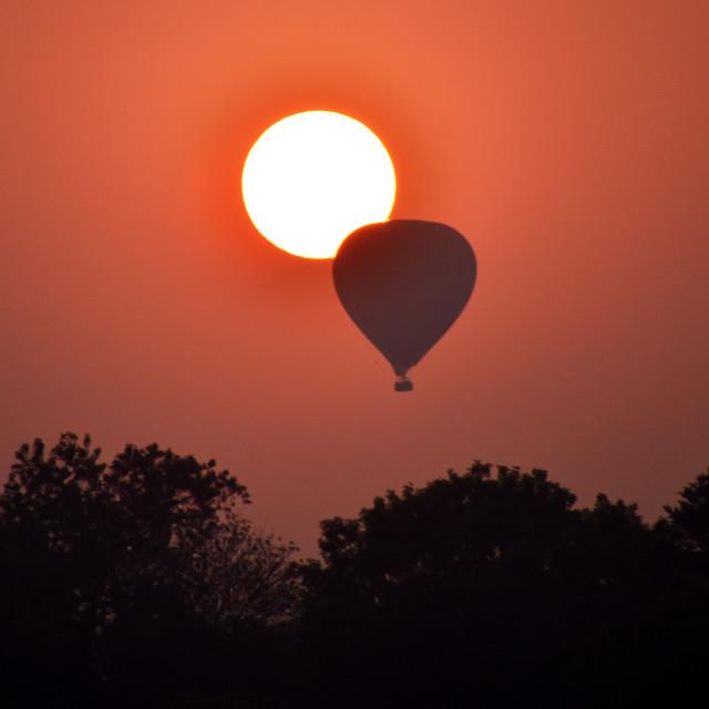 """""""Ballon Eclipse"""" stock image"""