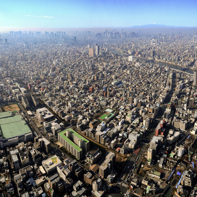 """Tokyo Cityscape 01"" stock image"