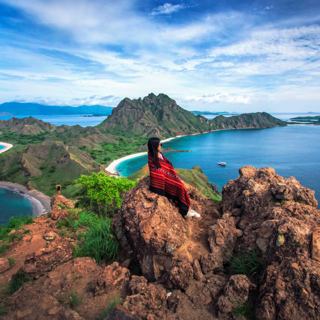 """The Padar Komodo Island"" stock image"